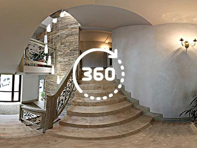 Zdjęcie 360° – korytarz